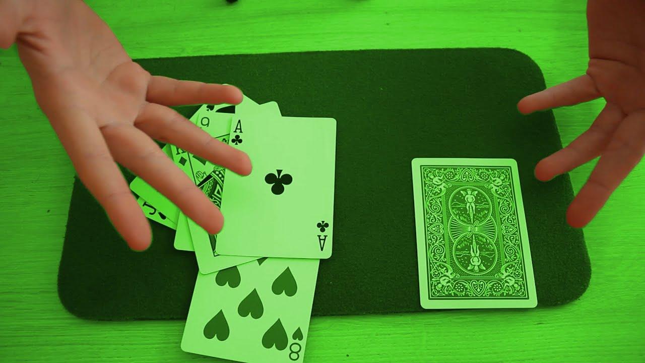tour de magie telepathie 9 cartes