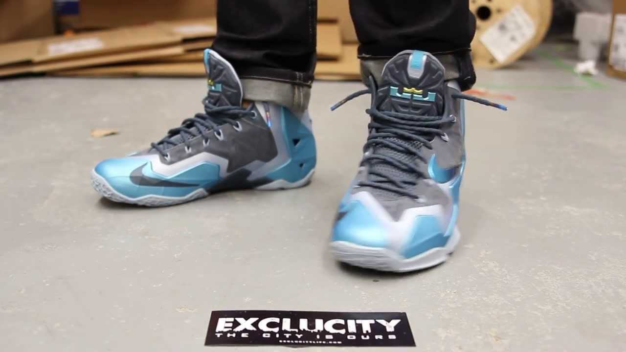 92ad4997f857 real shop air jordan olympic 7s 8d3da 35605  ebay lebron xi gamma blue on  feet video at exclucity youtube d6bb7 6e738