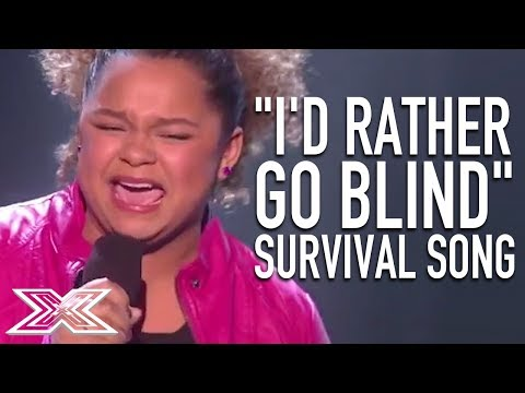 Emotional Rachel Crow Sings For Her Place In The Competition   X Factor Global