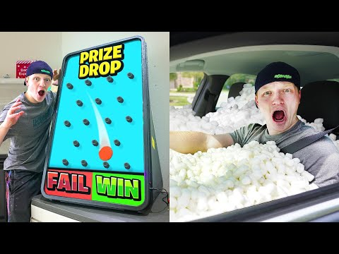 FAIL or WIN PRIZE DROP CHALLENGE!