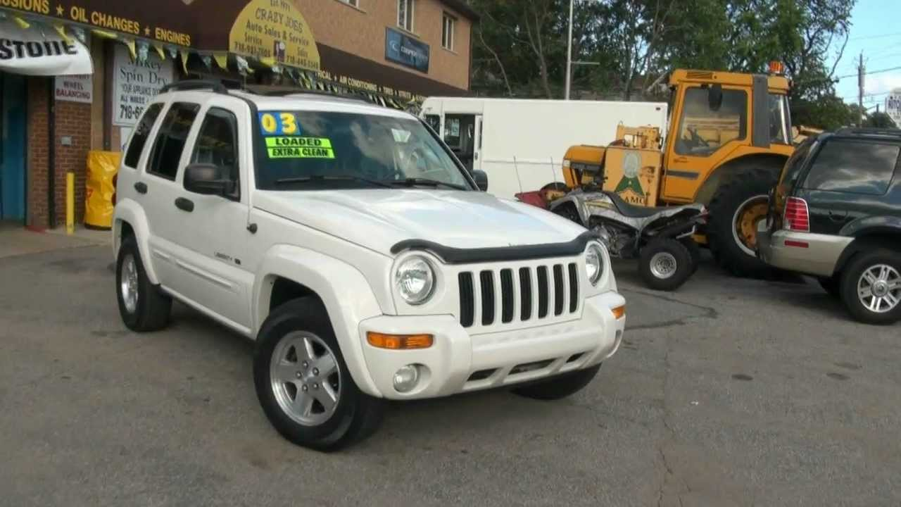 Superb 2003 Jeep Liberty 3.7 Limited Edition 4x4