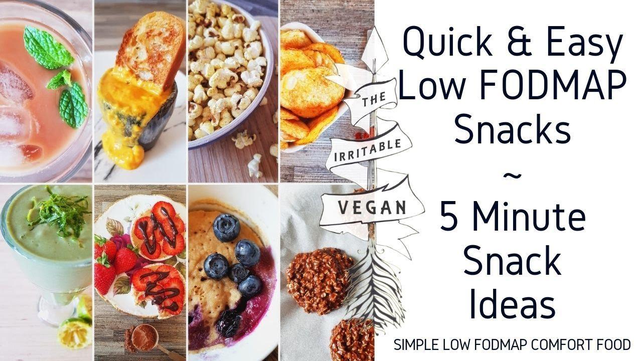fodmap diet snack recipes