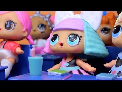 Куклы ЛОЛ СМЕШНЫЕ ВИДЕО 3 Сюрпризы Игрушки Мультики от Лалалупси Вероника