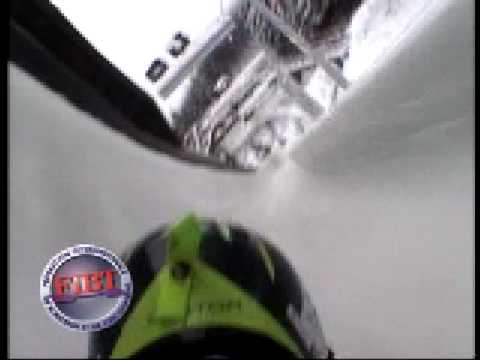 Altenberg Bahn Helmkamera Skeleton - YouTube