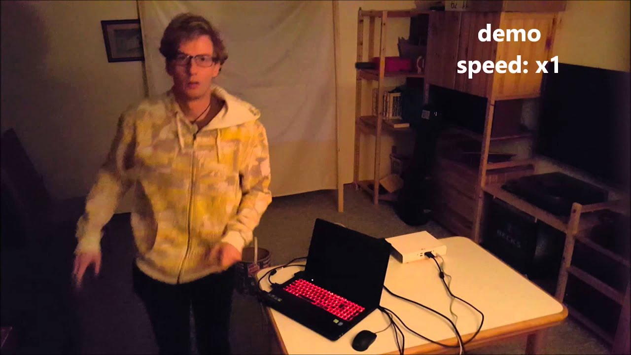 Automatic projector calibration - YouTube