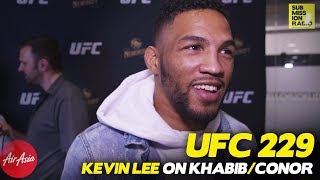 UFC 229: Kevin Lee Breaks Down Conor McGregor's Mind Games Against Khabib