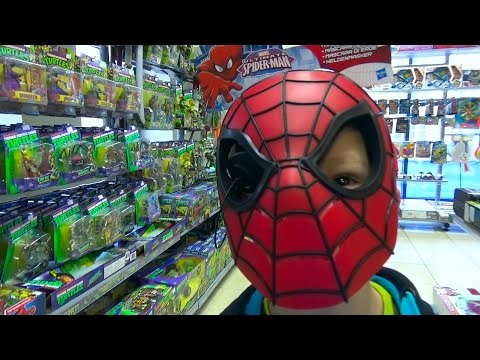 VLOG поход в детский магазин игрушки Черепашки Ниндзя Shopping children's store Cars TMNT Star wars