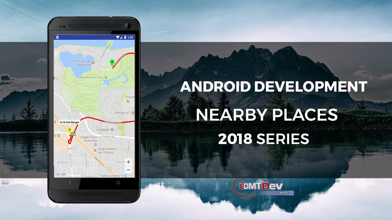 Android Development Tutorial - Google Nearby Places Part 3