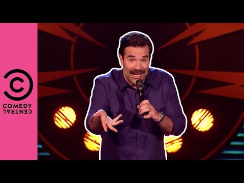Rob Delaney Misses His Uncle's Scrotum | Stand Up Central