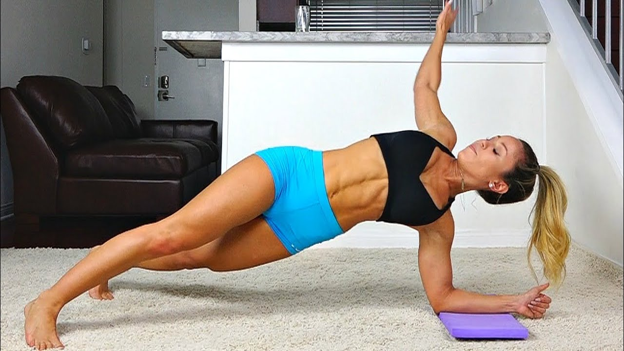 Girls Insane Six Pack Abs Workout
