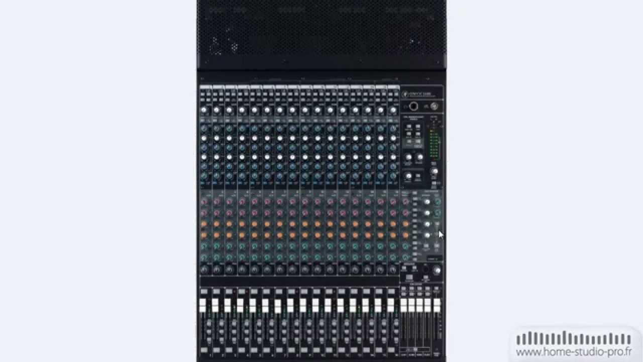 table de mixage utilisation