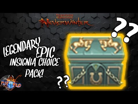 NEVERWINTER MOD 16 ZEN INSIGNIA PACK| LEGENDARY INSIDE? LET'S FIND OUT!
