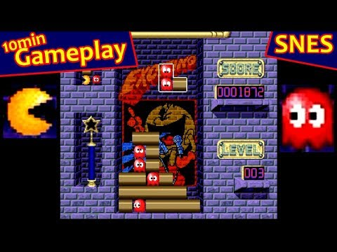 Pac Attack ... (SNES)