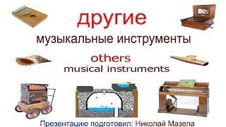 Другие музыкальные инструменты