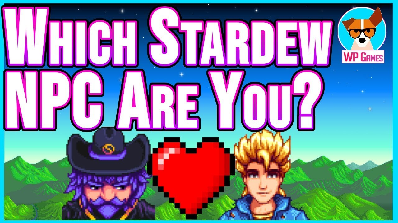 Who should i marry in stardew valley quiz