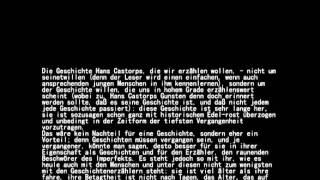 Thomas Mann - Der Zauberberg - Vorsatz (gelesen vom Gert Westphal)