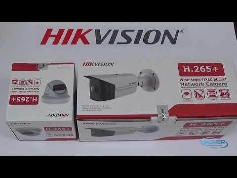 Hikvision halszemoptikás kamerák