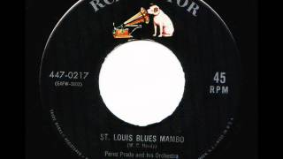 "Perez Prado and his Orchestra ""The King of the Mambo"" ST.LOUIS BLUES MAMBO"