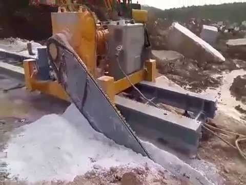 Quarry Chain Saw Cutting Machine And Quarrying Stone Cutter