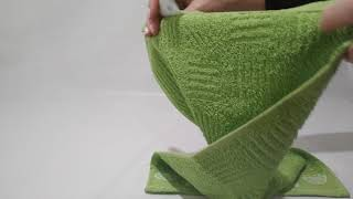 Полотенце кухонное 30х50 Hobby - Meyve зеленое - обзор