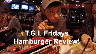 TGI Friday Burger Review & Gander Mountain (Vlog #11)