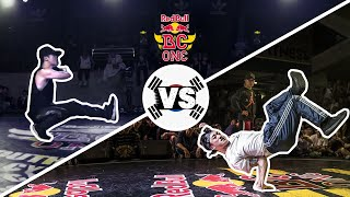 Red Bull BC One Cypher South Korea 2016 | Semifinal B-Boys: Bruce lee vs. Zooty Zoot
