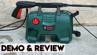 Bosch EasyAquatak 120 High Pressure Washer Review & Demonstration 2019