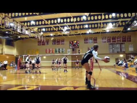 Fenwick High School Varsity Volleyball vs St Ignatius College Prep on 08/30/16
