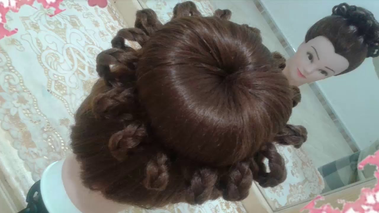 Peinados Recogidos Faciles Para Cabello Largo Bonitos Y Rapidos Con Trenzas Para Niña Para Fiestas13