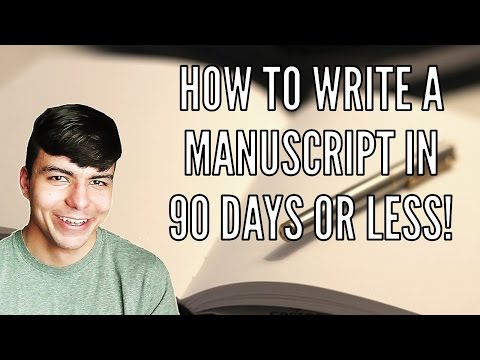 How To Write Novel Cript In Days Or Less