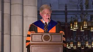 George Will *68 delivers 2019 Baccalaureate address
