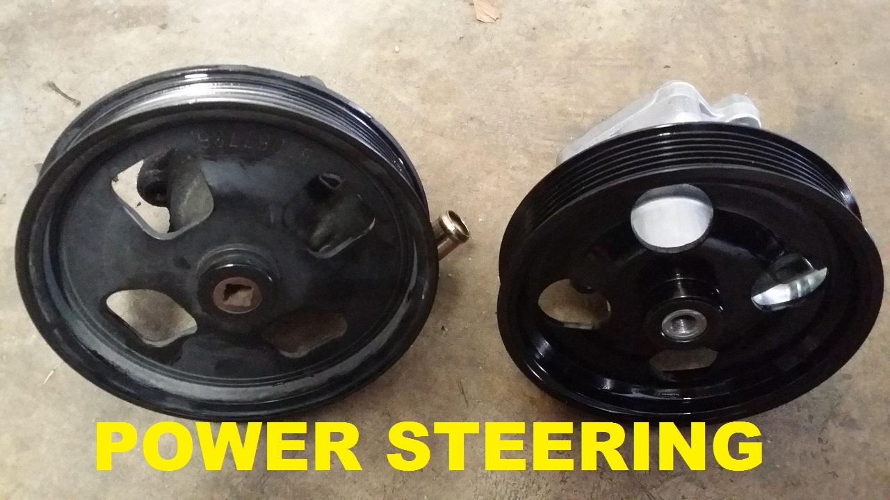 gto power steering pump replacement