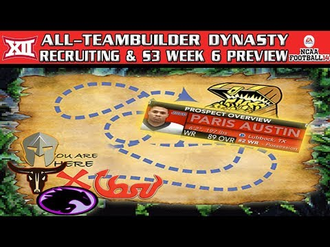 recruitin'-trail!---ncaa-football-14-|-big-12-all-teambuilder-dynasty-|-year-3-week-6-preview