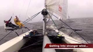 BartsGoPro - Mug Race 2013 - Hobie 21 Catamaran Sailing - GoPro