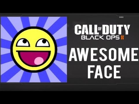 Black Ops 2 - Awesome/Epic Face Emblem Tutorial