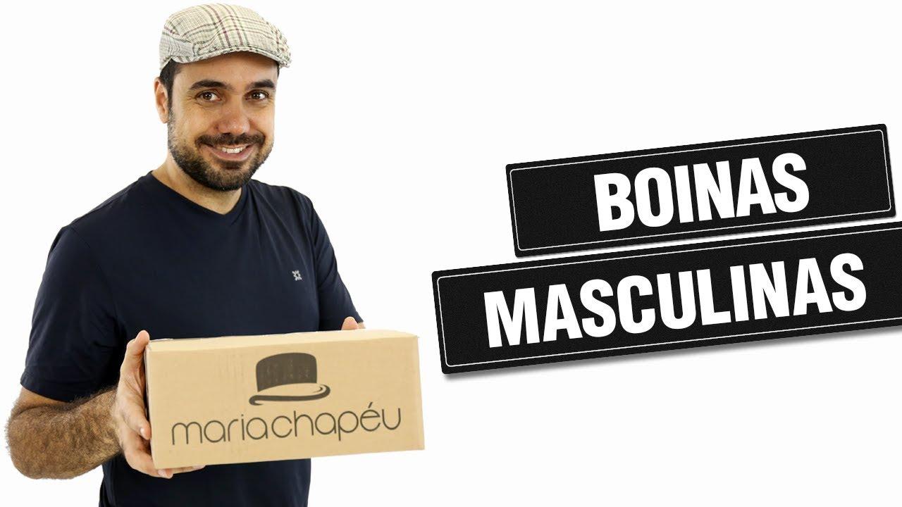 Boina Masculina. Conheça nossos modelos do acessório! - YouTube 18e43567dc5