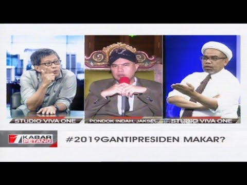 [FULL] Dialog: Tagar 2019 Ganti Presiden Makar? (Rocky Gerung - Ali Mochtar Ngabalin - Ahmad Dhani)