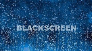 Rain Sounds BLACK SCREEN Thunder Growls Thunderstorm Sleep Relax Meditation