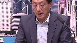 香港机场管理局行政总裁林天福:机场客运大厦实施进出管制