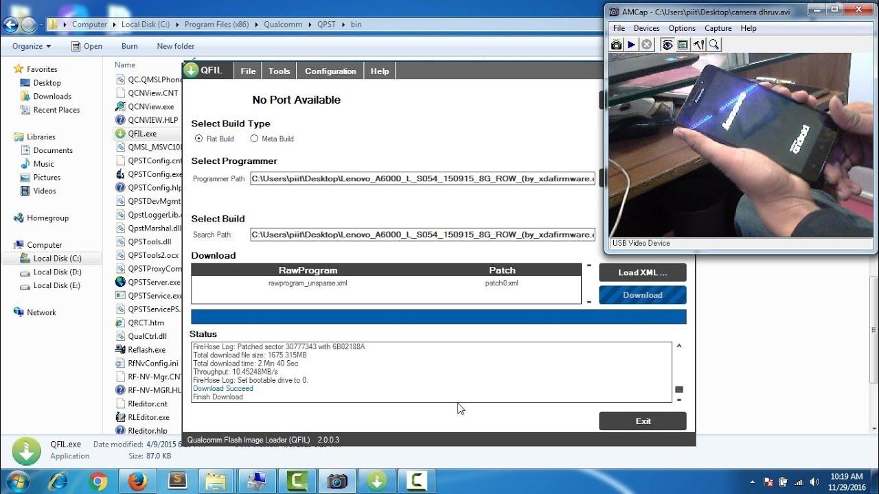 Lenovo A6000 flashing | software restore upgrade | in Hindi