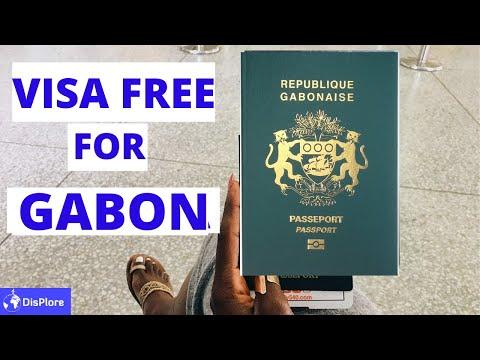 Visa Free Countries For Gabonese Passport Holders