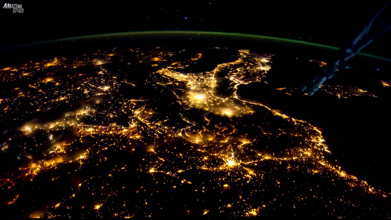 Earth From Space - Time Lapse Video