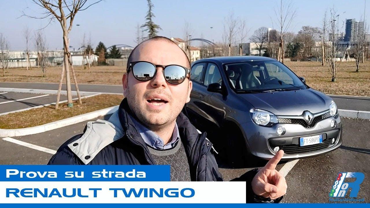 Prova su strada Renault Twingo - test drive