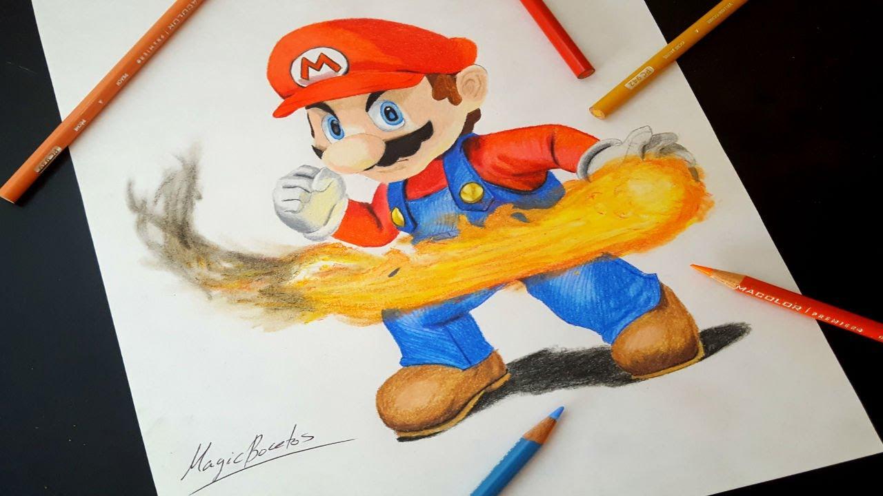 Como Dibujar A Super Mario Bros How To Draw Super Mario Bros
