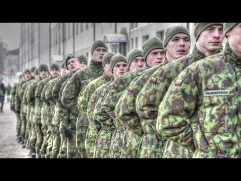 NATO Troops Build-Up In Eastern Front