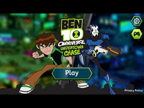 Undertown Chase - Ben 10 Omniverse Running Game - Best App For Kids - iPhone/iPad/iPod Touch