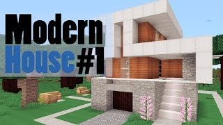 видео: #1 Little Modern House - minecraft (модерн хаус)