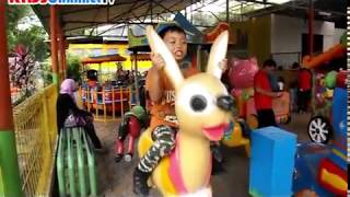 Zoo Ragunan Funny Kids Playground Amusement Park | Taman Bermain Naik Mobil Mobilan