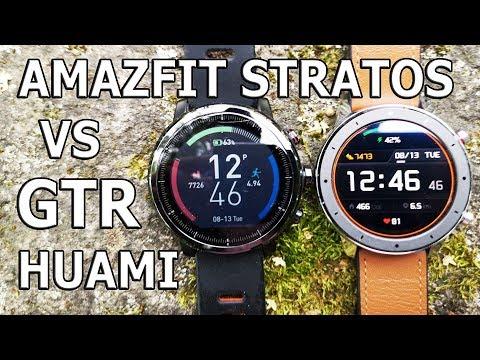 Xiaomi Huami Amazfit GTR Vs Amazfit Stratos I Или это Bip 2?