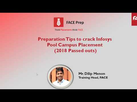 Preparation Tips to crack INFOSYS Pool Campus placements(2018 passed outs)